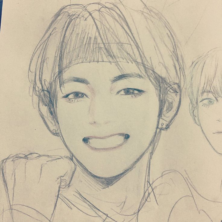 Scribble Drawing Portraits : Pin by michael james on pencil drawings pinterest bts
