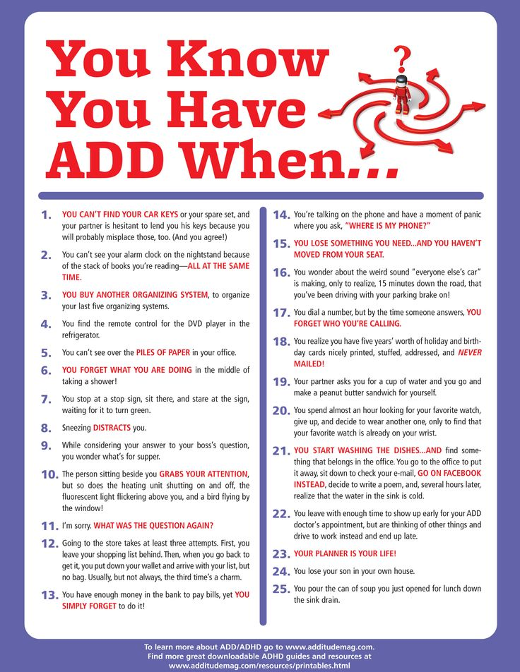 adult misconception adhd