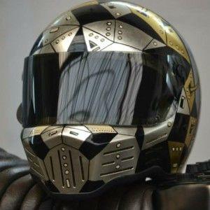 custom bandit helmet