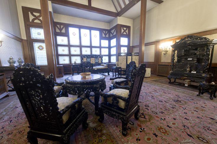 Salonul Oriental, Muzeul Cotroceni (Octav Ganea)