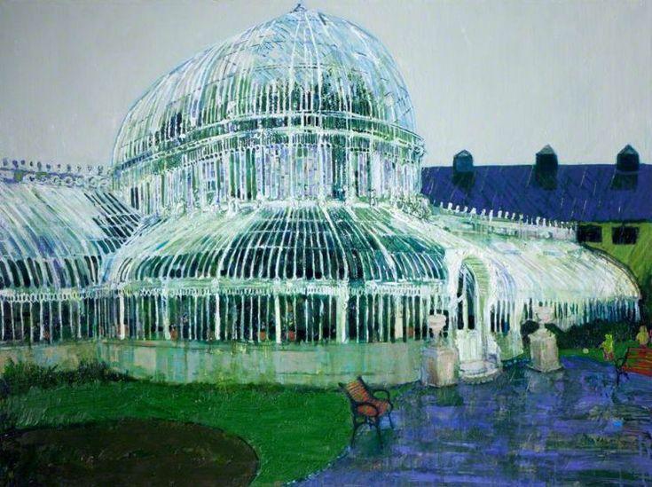Palmhouse raining, oil on canvas, Simon McWilliams | ART ...