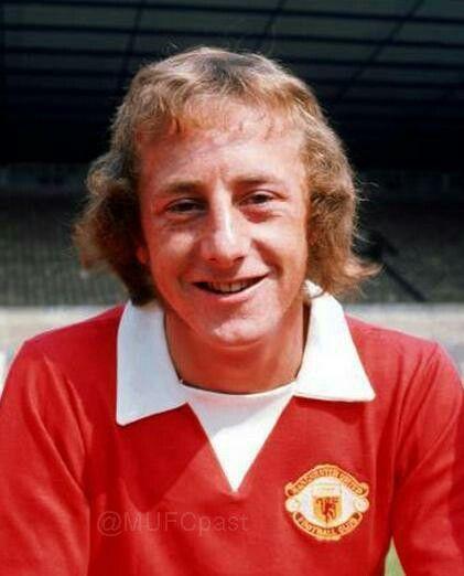 Mick Martin of Man Utd in 1972.