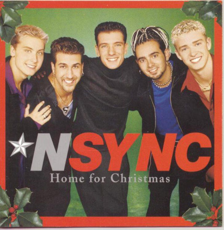 Pin for Later: Totally Justified: 17 Holiday Gifts For the JT Superfan *NSYNC Christmas Album *NSYNC's Home For Christmas Album ($9)