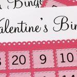 Valentine's Bingo - Free Printable Download