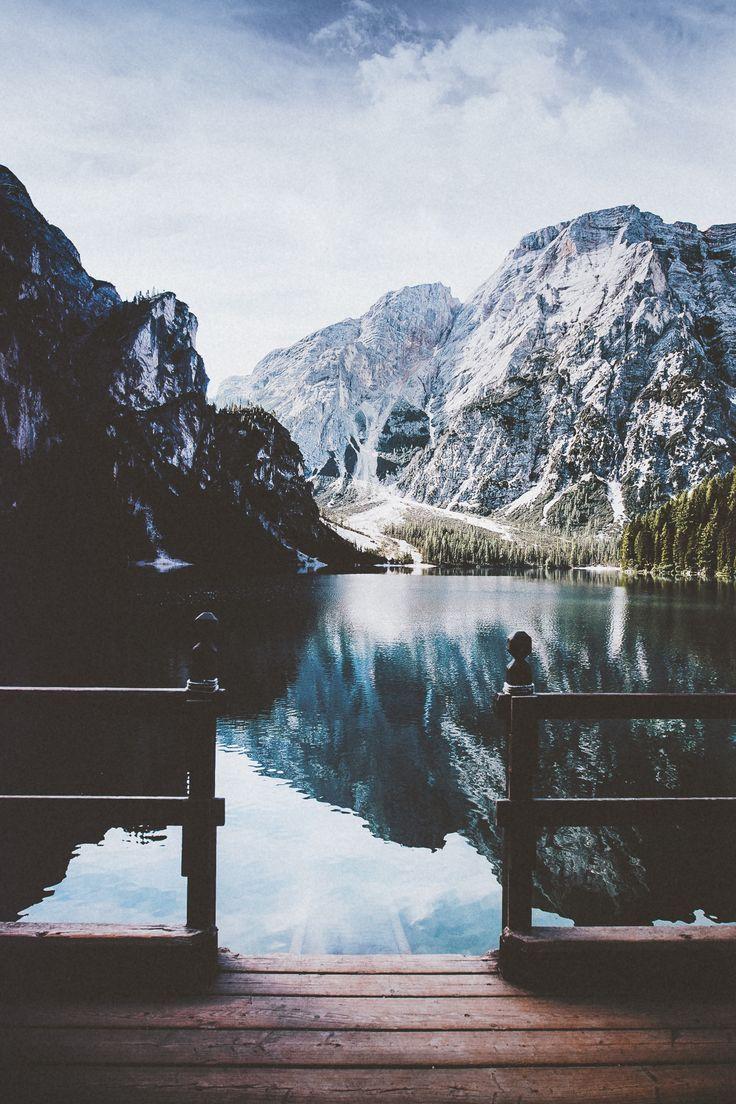 Calme/serenité/paysage de montagne