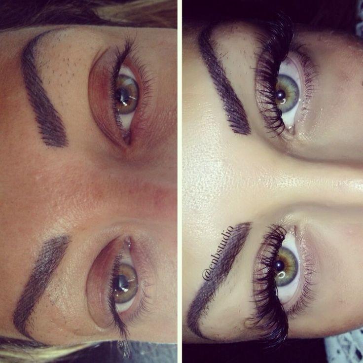 Eyelash extensions enbstudio naturalbeautytips