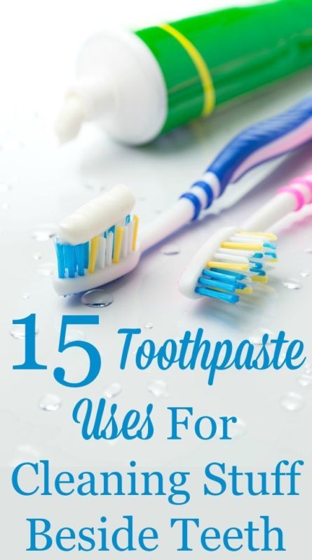 Toothpaste is for more than just cleaning teeth. Here's 15 toothpaste uses for cleaning items in and around your home. #ad