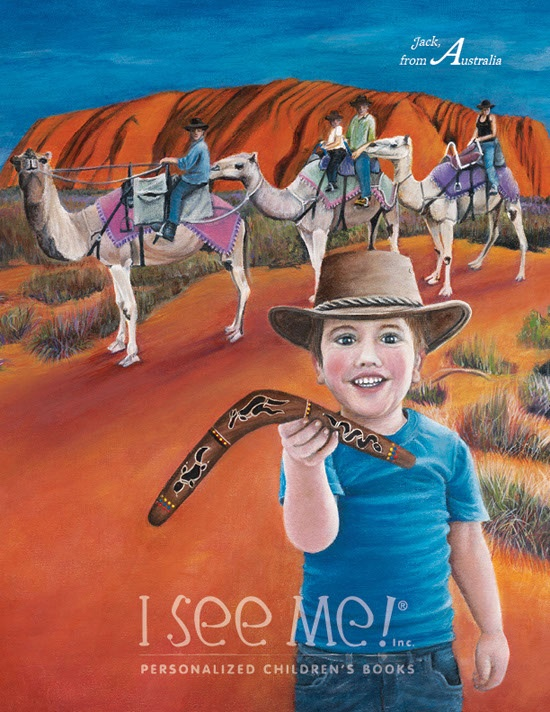 """Australia - As featured in """"My Very Own World Adventure"""" personalized children's book by I See Me!"""
