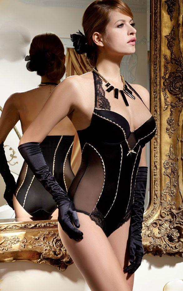 #lingerie #black and white #Gracya