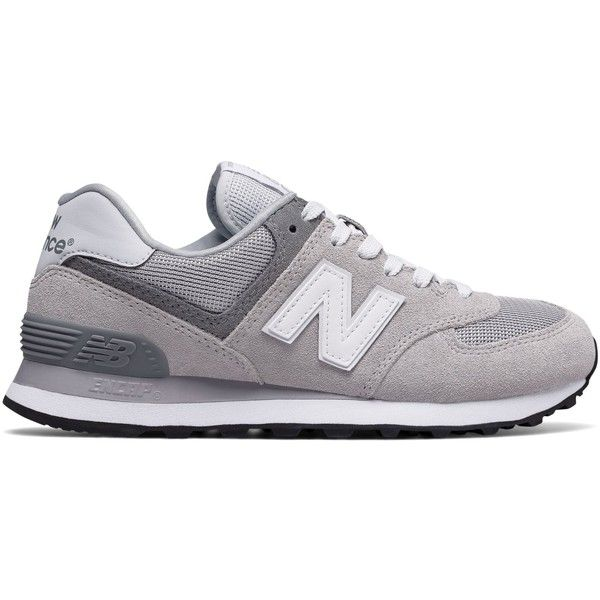 New Balance 574 Core Plus Women's Shoes (4.455 RUB) ❤ liked on Polyvore featuring shoes, grey, gray shoes, new balance shoes, grey shoes, new balance and new balance footwear
