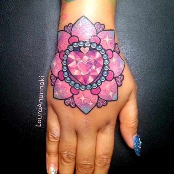 The Sparkly Kawaii Tattoos Of Laura Anunnaki | Tattoodo.com