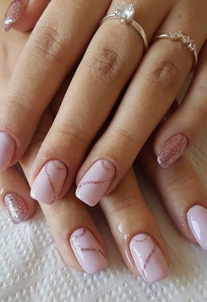 50 Simple And Amazing Gel Nail Designs For Summer In 2020 Gel Nail Designs Nail Designs Sparkle Nails