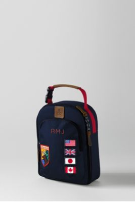 School Uniform Boys' Patches MadBox™ 2-piece Lunch Box from Lands' End
