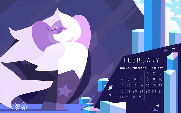 2018 Calendar the birthstone of February: Amethyst! I'm working on the calendar guys! I'll be selling the PDF version on Gumroad and I'll announce it here once I have everything done! After those,...