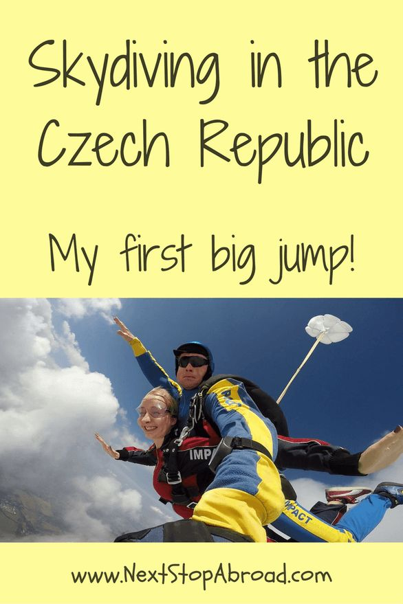 Skydiving in the Czech Republic