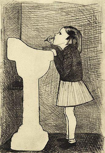 John Brack ~ Second Daughter, 1954