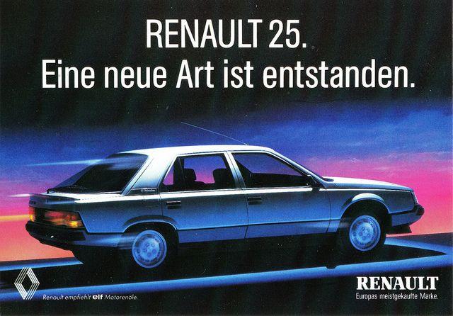 Renault 25, 1983-1992