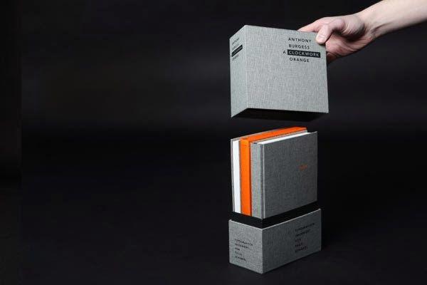 A Clockwork Orange Boook via Thilo Schinkel #grafica #libro #rilegatura #packaging