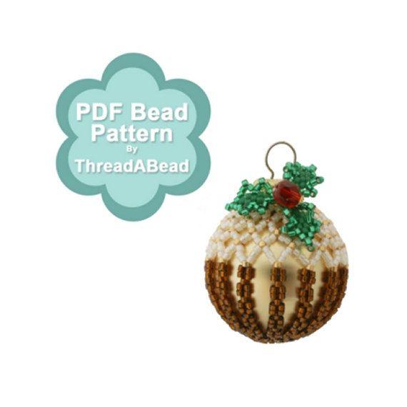 Mejores 38 imágenes de beaded Christmas jewelery en Pinterest ...