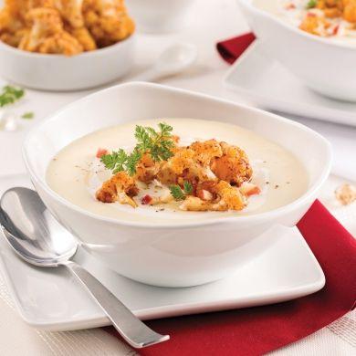 Potage de chou-fleur au cidre de glace - Recettes - Cuisine et nutrition - Pratico Pratique
