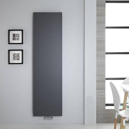 Radiateur vertical 180x50cm 1123 watts Rubi Anthracite - Image 1