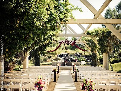 Coyote Hills Golf Club Fullerton Orange County Wedding Location Outdoor Ceremonies This