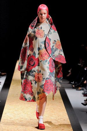 Fall 2012 - Floral Print and composition