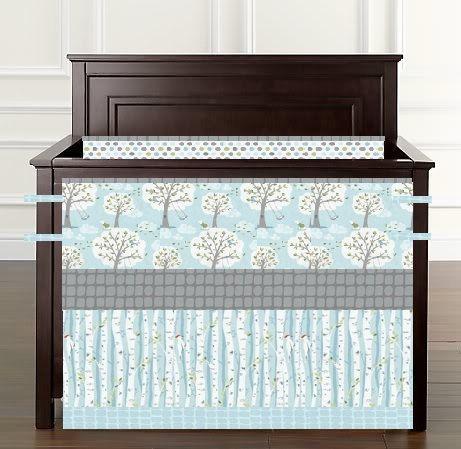 Nursery Bedding Crib Set Mini Crib Crib by BeautifulBebeDesigns, $275.00