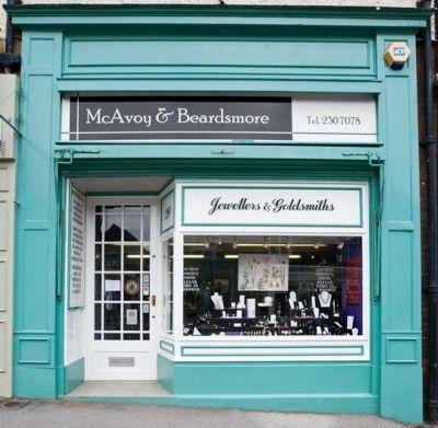 Image result for teal shop front