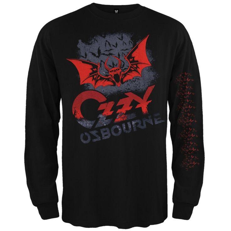 Ozzy Osbourne - Bats Long Sleeve T-Shirt