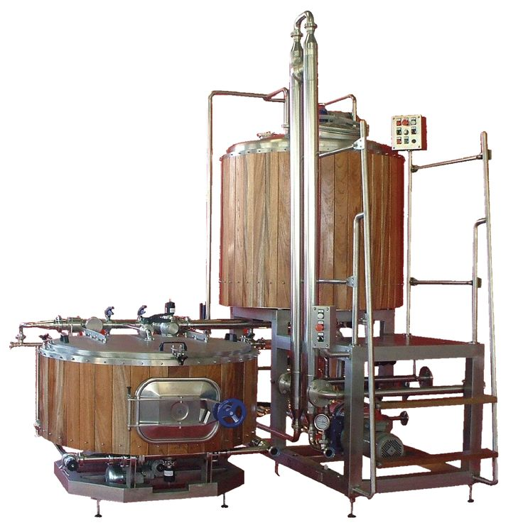 Microbrewery equipment - Skid mounted 8 barrel brewery