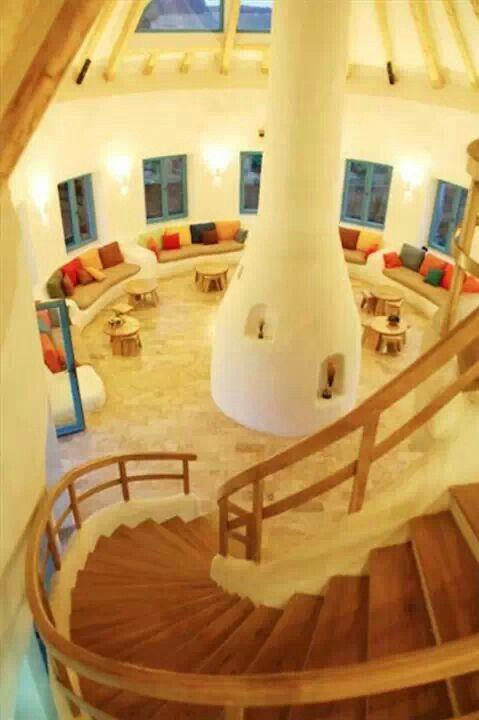 Cob living room