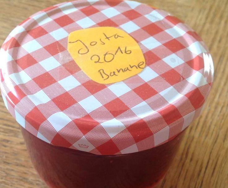 Jostabeere Banane Marmelade by Ellimaus1 on www.rezeptwelt.de