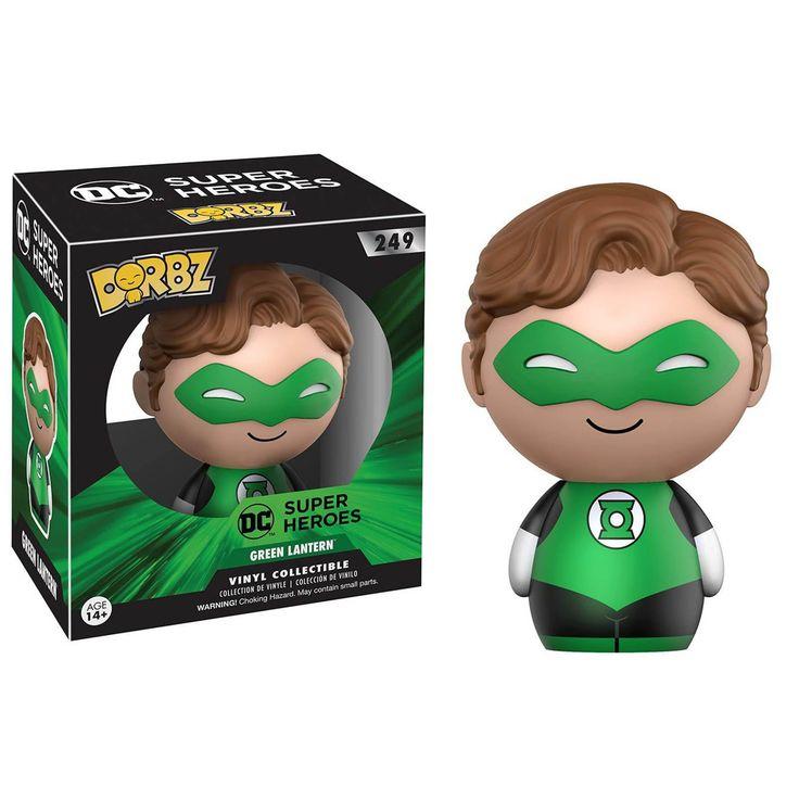 Funko DC Super Heroes Dorbz The Green Lantern Vinyl Figure - Radar Toys