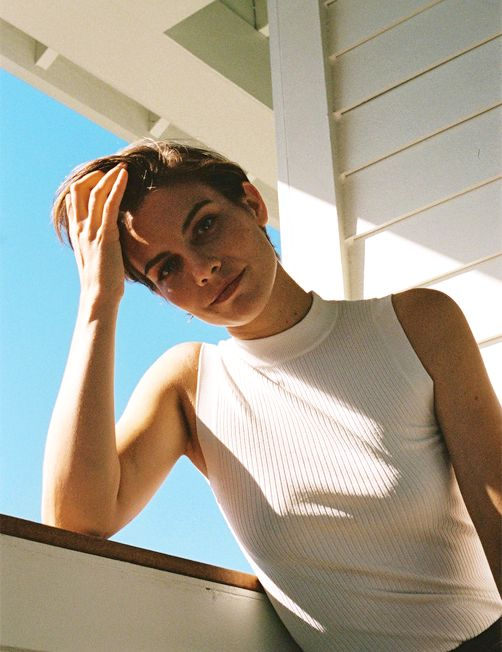 Lauren Cohan photographed by James Wright and Toby Knott for So It Goes Magazine