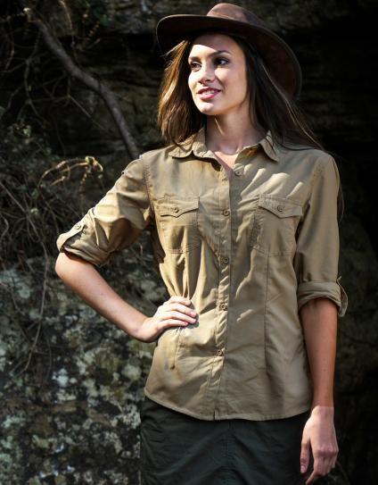 Women's Rufiji™ BUGTech™ SafariElite Long Sleeve Safari Shirt :: The Safari Store :: Essential Safari Clothing, Safari Luggage, Safari Accessories. FREE Safari Packing Lists & Expert Advice.