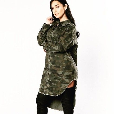 Shalena Military Camo Denim Coat http://shalena.ca #women #fashion #onlineshopping #dresses #shoes #coat #love #life #american #canadian #australia #newzealand #uk #england #france #germany #spain  #latestfashion #beautiful #happy #pretty #colorful #sweet #bestquality #shopping #womenfashion  #followforfollow #follow4follow #f4f #ifollowbackalways