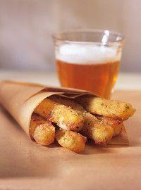 « Frites » de mozzarella | Ricardo | Testée et approuvée