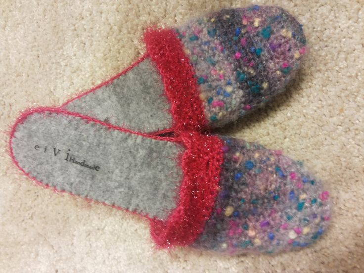 Wool Slippers fifty shades of grey  wool shoes womens slippers felted wool shoes house shoes Accessorise slippers by elvihandmade on Etsy