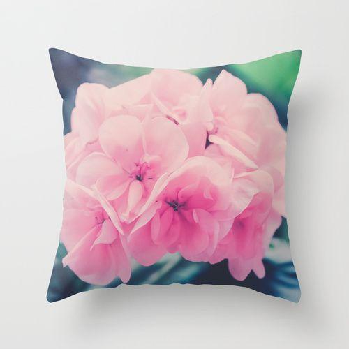 Bridesmaids Throw Pillow by Ia Loredana   Society6   #Pillow #AreaPillow #ThrowPillow #artprint #print #natureprint #floral print #colorprint #photographyprint #outdoordecor #indoordecor pink-pillow