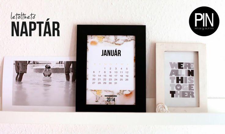 Letölthető naptárak - 2014 ~ PIN MAGAZIN