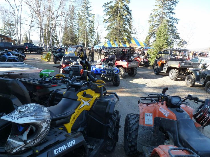 Stop at #Sand #Lake #Cottages while enjoying the #Algonquin #ATV #West #Spring #Ride http://www.sandlake.on.ca