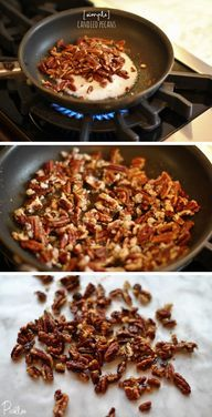 My Favorite Winter Snack-Quick Candied Pecans [recipe] | Picklee