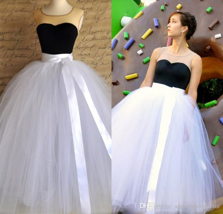 Dorable How To Make A Tulle Ball Gown Skirt Elaboration - Best ...