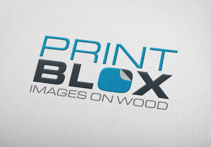 Logo design project completed for print blox by www.brandabble.co.uk