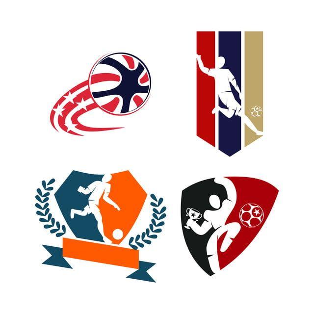 Download Sepakbola Bola Sepak Lencana Logo Desain Template Vektor Olahraga Lencana Desain Logo Template