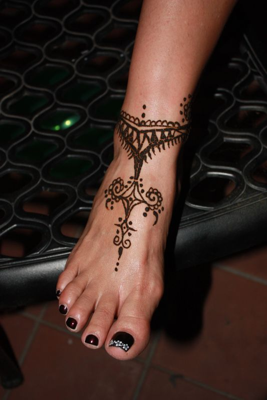 henna on foot - Google Search
