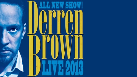 Derren Brown Edinburgh Tickets - Edinburgh Playhouse - ATG Tickets