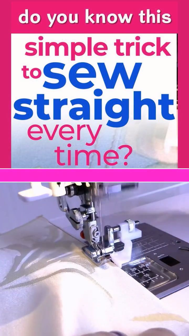 How to sew straight – top sewing tips to help you stitch like a pro In this guid…