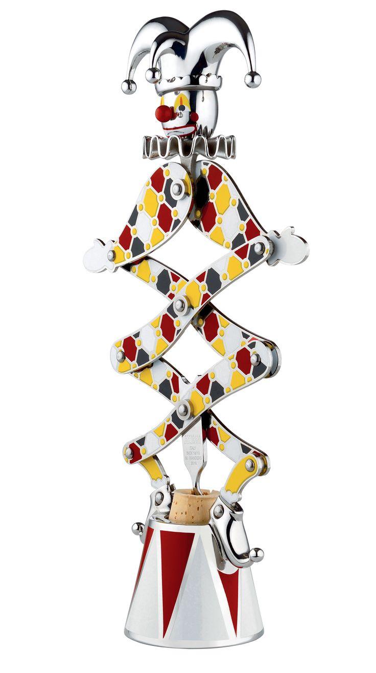 Tire-bouchon The Jester / Circus - Edition limitée numérotée Multicolore - Alessi - Décoration et mobilier design avec Made in Design